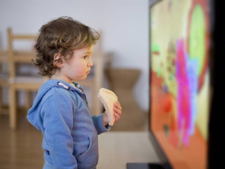 La exposición a pantallas en la infancia